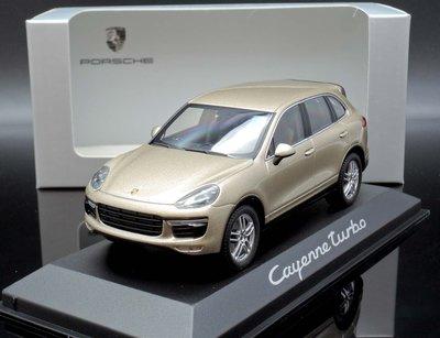 【MASH】現貨瘋狂價 原廠 Minichamps 1/43 Porsche Cayenne Turbo 2014