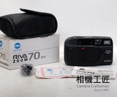 ※相機工匠¥免運商店-分期零利率※ A+類 MINOLTA RIVA ZOOM 70*