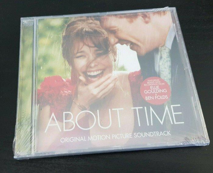 歐版CD電影原聲帶《真愛每一天》 /ABOUT TIME全新未拆