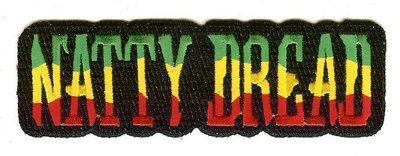 RayKae~刺繡臂章、燙貼布、熨燙徽章、刺繡燙布~NATTY DREAD