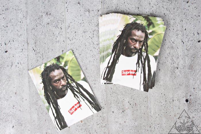 【HYDRA】Supreme Buju Banton Sticker 雷鬼 牙買加 歌手 貼紙【SUP397】