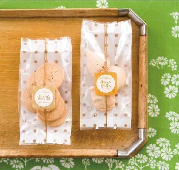 AM好時光【G31】韓版咖啡色圓點 長條摺邊包裝袋 10枚❤西點烘焙DIY 點心餅乾糖果 手工皂 禮品 婚禮小物 洋果子