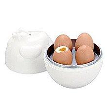 OKAY 微波餐具咕咕雞家庭號4入煮蛋器
