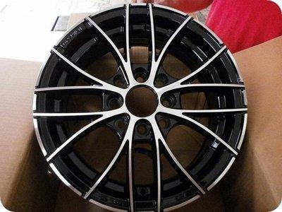 ***天下第一輪***全新鋁圈 2200 14吋5.5J 4孔114.3/100 黑車面.霧黑 完工價(含氣嘴)1600