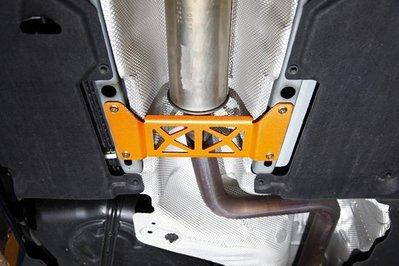 《大台北》億成汽車底盤精品改裝-SUMMIT-鐵合金中下結構板 VOLVO V40