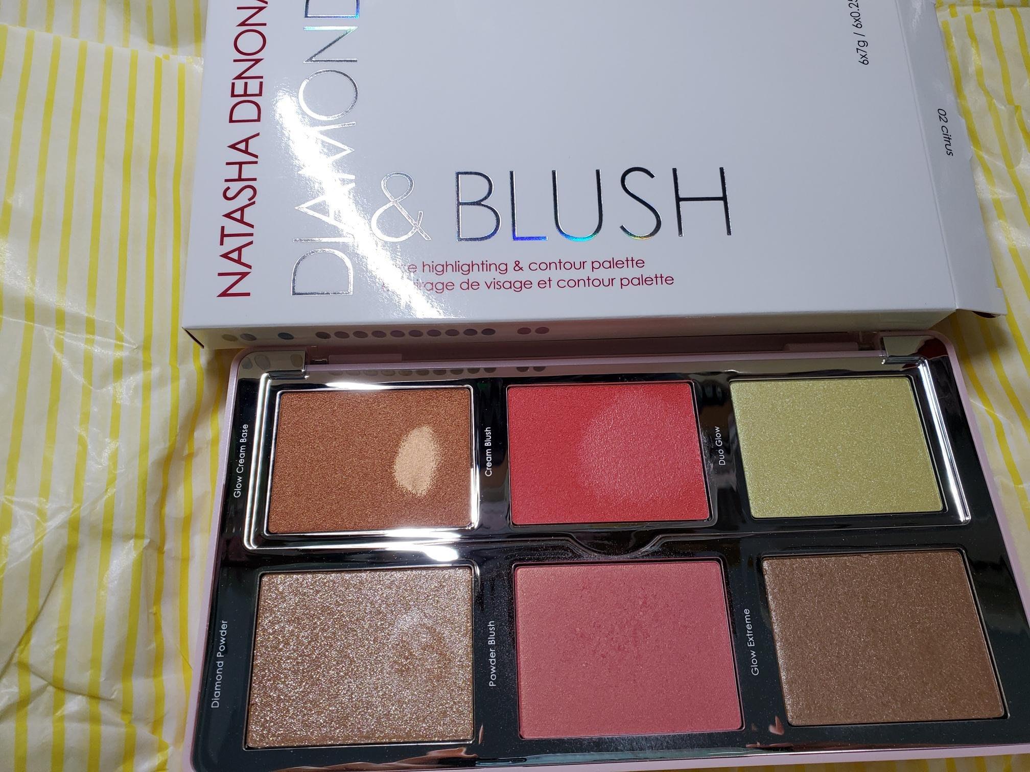 natasha denona diamond  & blush 腮紅打亮盤