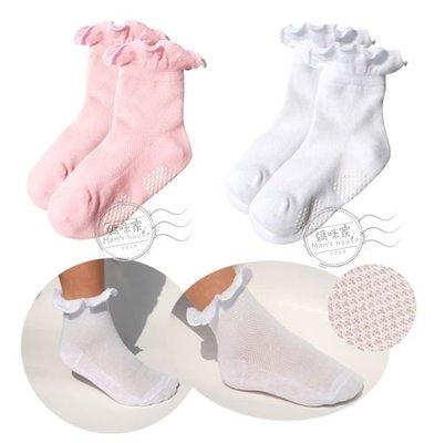 媽咪家【C011】C11針織花邊襪 高...