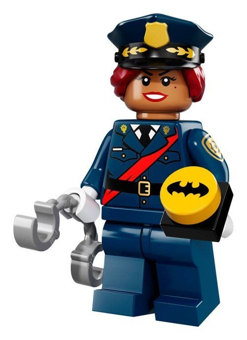 現貨【LEGO 樂高】Minifigures人偶系列: 蝙蝠俠電影人偶包抽抽樂 71017 | #6 芭芭拉高登+手銬