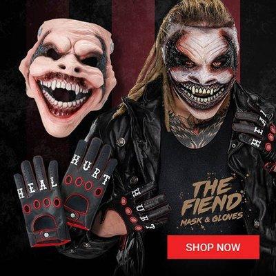 [美國瘋潮]正版WWE Bray Wyatt The Fiend Replica Mask 詭異家族擬真版矽膠惡魔面具