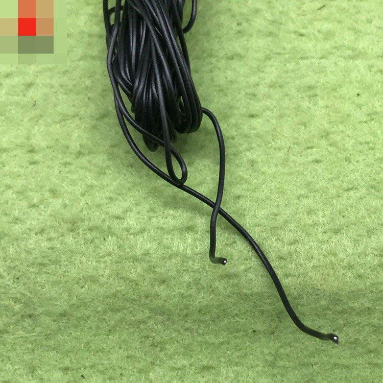 黑色單芯鍍錫線0.12 黑色導線 電線 實驗用線 (10米/包) W313-191210[362021]