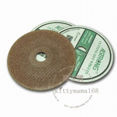 【買家購】 台灣製ALSTRONG工具館~切斷砂輪片(單片)~表面耐磨貼紙,切割比一般多達3倍