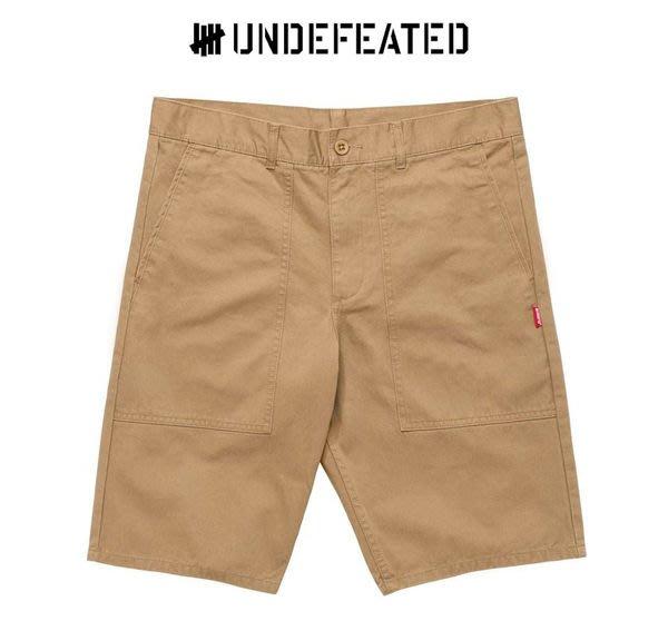 【超搶手】全新正品 S/S 春季 UNDEFEATED FIELD SHORT 工作短褲 卡其 W32 W34 W36