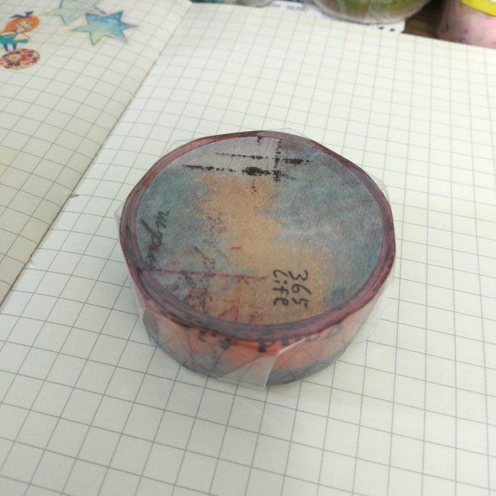 【R的雜貨舖】紙膠帶分裝 非整捲 夏米 x 小徑 Chamilgarden 和紙膠帶 - 懷瑾