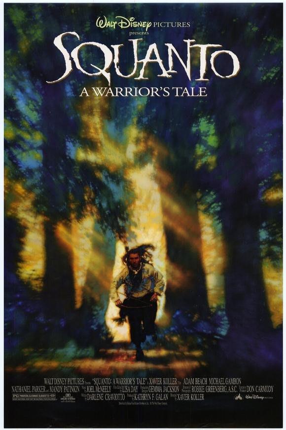 終極勇士-Squanto: A Warrior's Tale (1994)原版電影海報