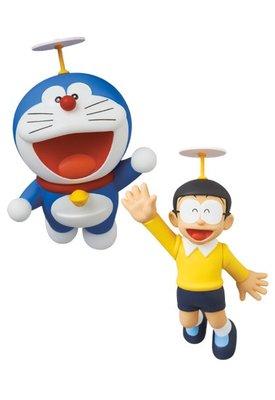 日本 東京 MEDICOM TOY 藤子F不二雄博物館 哆啦A夢 大雄 竹蜻蜓 UDF 公仔 模型 玩具 NO.575