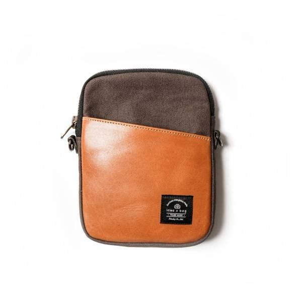 輕量真皮旅行小包 側背包 含真皮背帶
