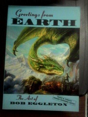英文畫冊/EARTH/The  Art of  BOB EGGLETON/PAPER TIGER