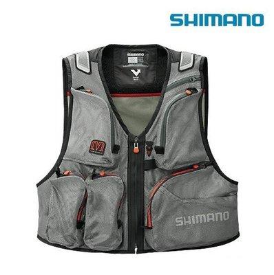 源豐網路釣具 - SHIMANO MS 網眼釣魚背心(L號) VE-002N