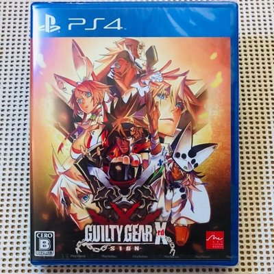 全新✨PS4_聖騎士之戰 Xrd -SIGN- Guilty Gear Xrd -SIGN- 日文版_遊戲片