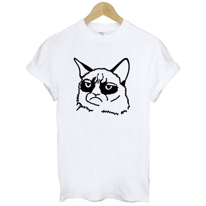 GRUMPY CAT#2短袖T恤 2色 不爽貓 動物 趣味 生氣 390 gildan