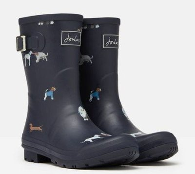 Joules 英國代購 MOLLY MID HEIGHT WELLIES 狗兒 雨 鞋