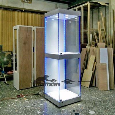 全一 玻璃展示櫃  展示櫃  公仔櫃....