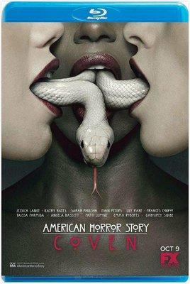 美國恐怖故事:女巫集會  美國怪談  美国怪谭  第3季  共2碟  American Horror Story