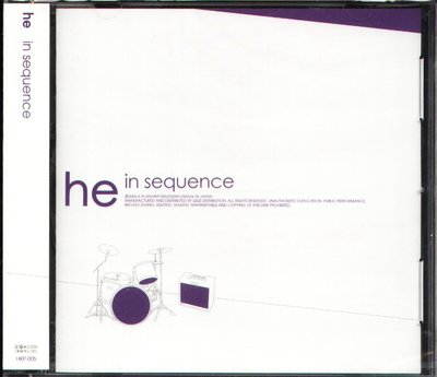 K - he - in sequence - 日版 - NEW