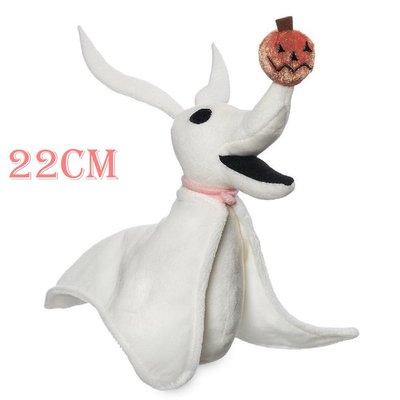 【美國大街】正品.美國迪士尼聖誕夜驚魂傑克的狗零零絨毛娃娃 Zero 9吋 / 22cm
