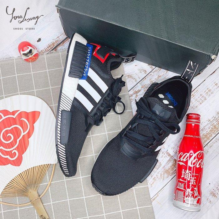 【Luxury】Adidas NMD R1 Boots Japan Black White 男女鞋 日文標 EF2357