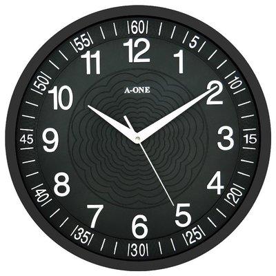 A-ONE 靜音時鐘 立體水波紋凸字體 大時鐘 彩色時鐘 客廳時鐘店面時鐘造型時鐘【↘290】TG-0259