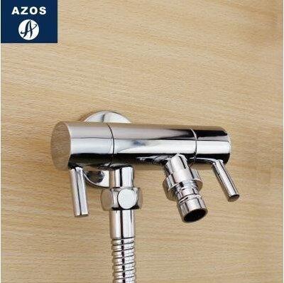 【優上】德國全銅洗衣機龍頭普通雙用洗衣機水龍頭加長雙出單冷水龍頭「A款」