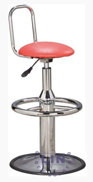 【品特優家具倉儲】325-01吧台椅洽談椅827電鍍踏圈吧台椅