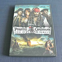 Pirates of the Caribbean: On Stranger Tides《加勒比海盜:魔盜狂潮》DVD