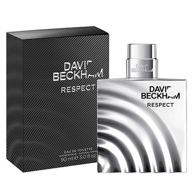 ☆MOMO小屋☆ David Beckham Respect 貝克漢 尊重 男性淡香水 90ml