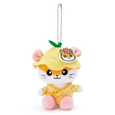 Sanrio 日本正版 CK鼠 Coro Coro Kuririn 毛公仔 掛飾 吊飾 (甚平)