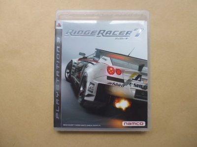 明星錄*2006年日本版RIDGE RACER7=附中文說明書.二手遊戲光碟(s681)