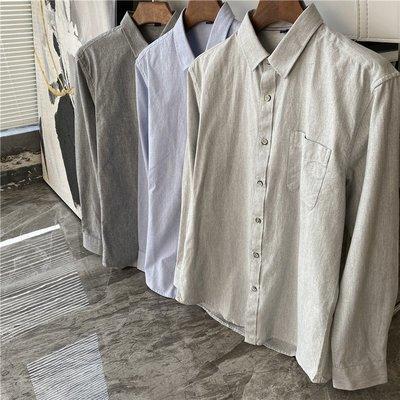 男裝精選高質感好品質休閒正式上衣 男花紋釦中厚度長袖襯衫 艾爾莎【TME5238】
