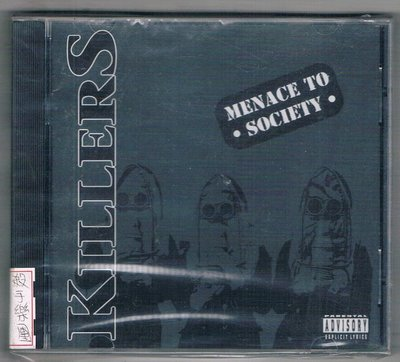 [鑫隆音樂]西洋CD-殺手樂團 KILLERS:Menace to Society/3984140832/全新/免競標