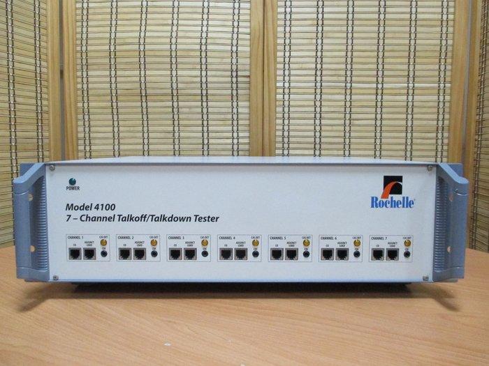 康榮科技二手測試儀器領導廠商Rochelle 4100 7CH Talkoff/Talkdown Tester