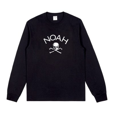 【日貨代購CITY】2018AW NOAH Jolly Roger Long Sleeve Tee 長T 骷髏 現貨