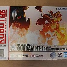 Robot魂 Gundam RX-78NT-1FA Full Armor Equipment, ver. A.N.I.M.E. - 日版全新未開封!