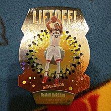 NBA球員卡 馬刺真大腿 demar derozan 暴龍時期特殊切割卡