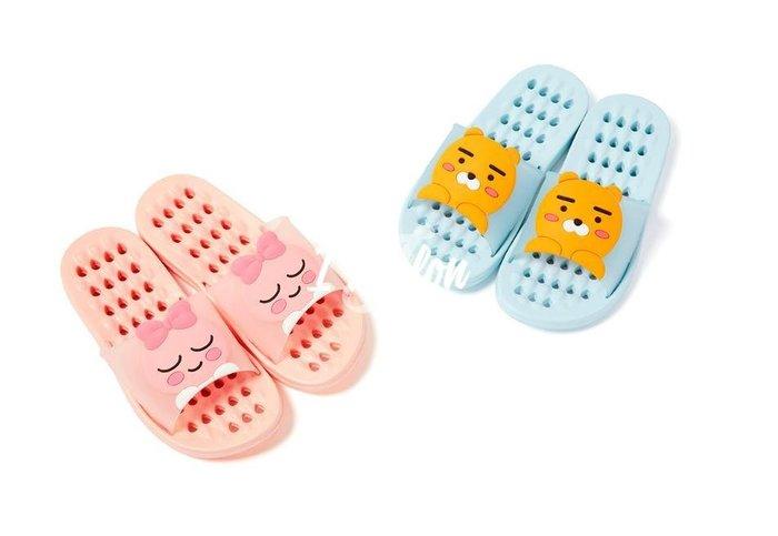 ::: i-MelOn ::: 100%韓國空運 正韓【現貨】Kakao室內拖鞋浴室地板拖鞋※RYAN/APEACH