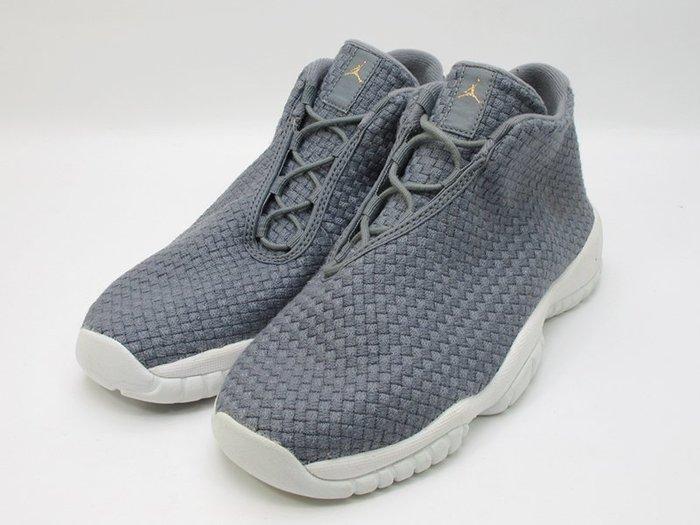 左腳展示發黃特價 NIKE AIR JORDAN FUTURE BG 大童鞋 女鞋 灰白 656504-003