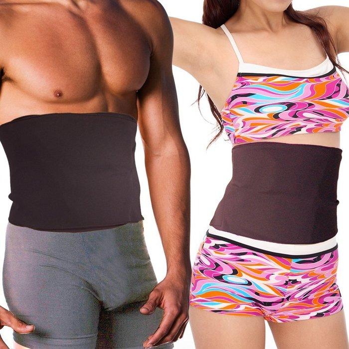 腰嬌美麗必備SLIM SHAPERS爆汗腰帶~男女均適用