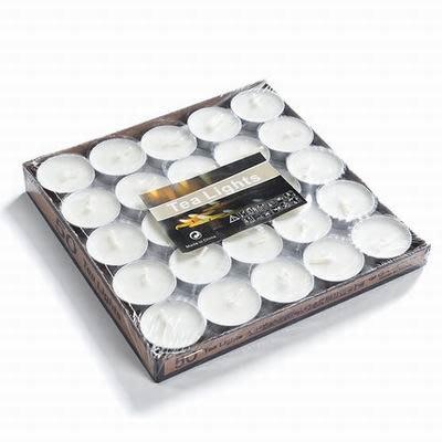 【蠟燭50粒盒裝-燃燒約1.5-2小時/粒-1盒/組】煮茶爐泡茶溫茶保溫加熱燃燒溫酒茶具-7501040
