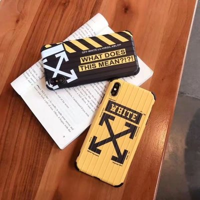 OFF WHITE IPHONE CASE 蘋果手機殼