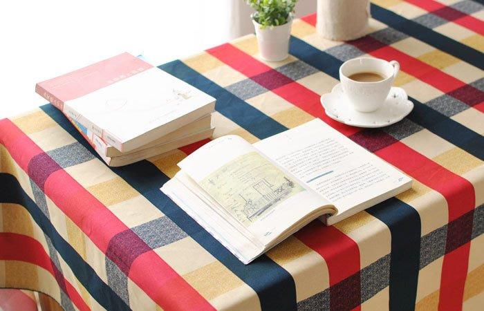 {{英倫格子}}愛丁堡桌巾(140x140)