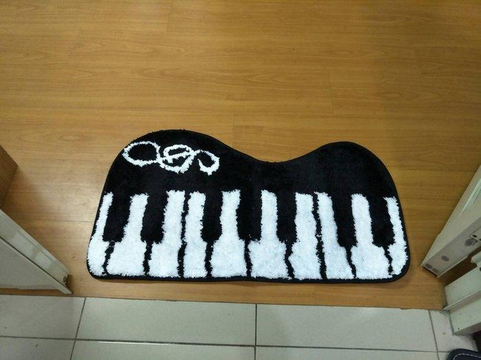 ╰☆美弦樂器☆╯45*80(cm)鋼琴地墊 / 臥室廚房浴室門口地墊地毯進門門墊 門廳防滑吸水腳墊